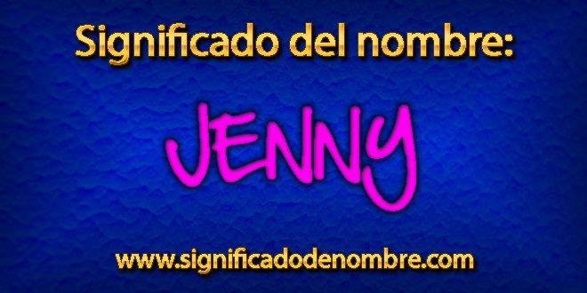 Significado de Jenny