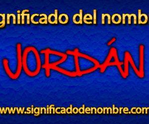 Significado de Jordán