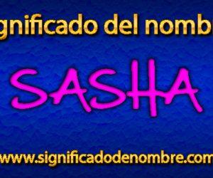 Significado de Sasha