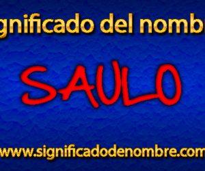 Significado de Saulo