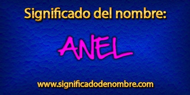 Significado de Anel