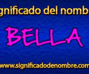 Significado de Bella