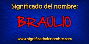 Significado de Braulio