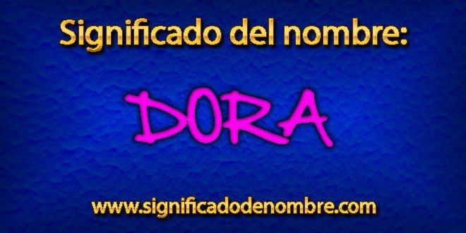 Significado de Dora
