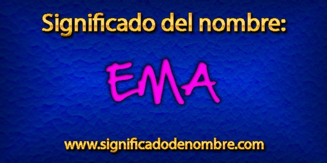 Significado de Ema