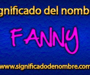 Significado de Fanny