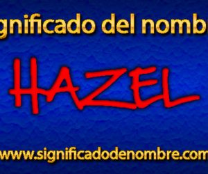 Significado de Hazel
