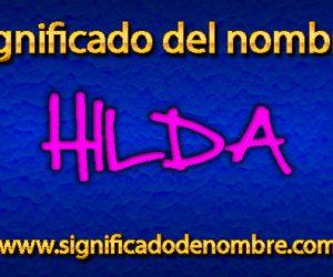 Significado de Hilda