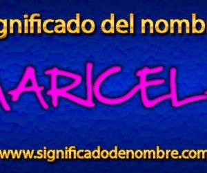 Significado de Maricela