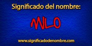 Significado de Milo