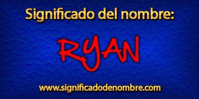 Significado de Ryan