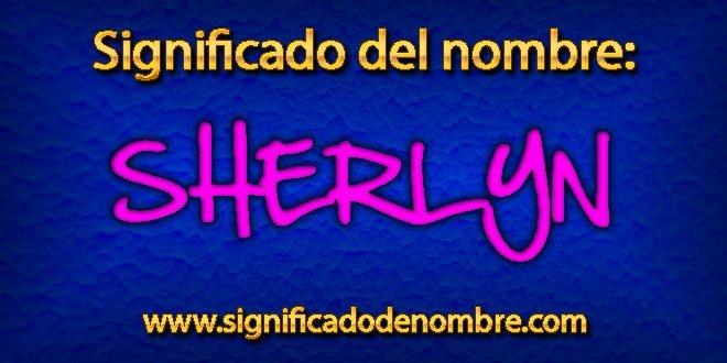 Significado de Sherlyn
