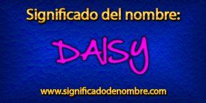 Significado de Daisy