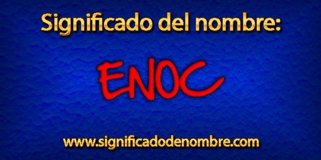 Significado de Enoc