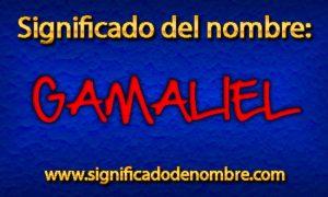 Significado de Gamaliel