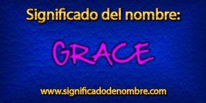 Significado de Grace