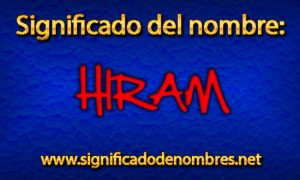 Significado de Hiram
