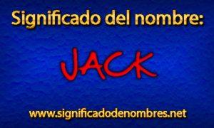 Significado de Jack