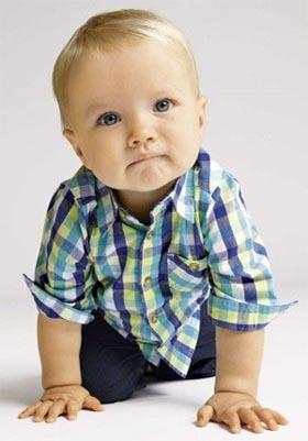 Bebé bonito varón