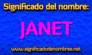 Significado de Janet