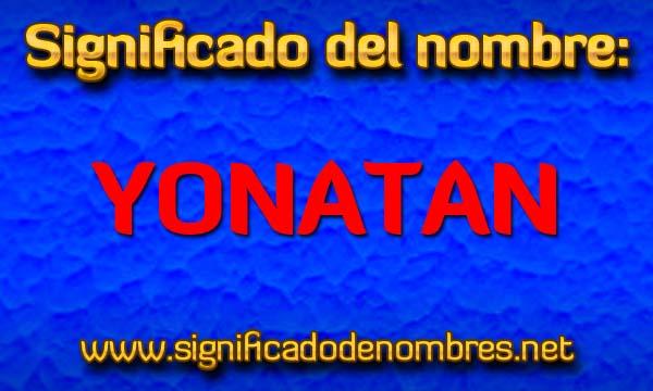 Significado de Yonatan