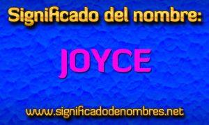 Significado de Joyce