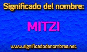 Significado de Mitzi