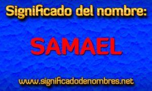 Significado de Samael