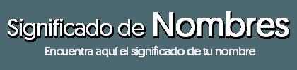 Logo Significado de Nombres