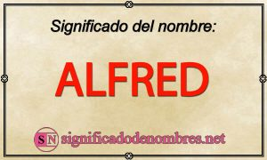 Significado de Alfred