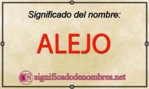 Significado de Alejo