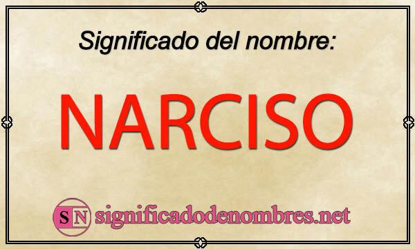 Significado de Narciso